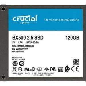 CRUCIAL 120GB SSD BX500 3D SATA 2.5