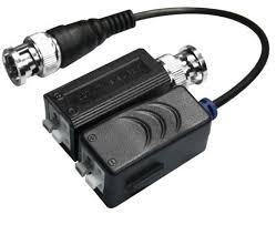 Video Balun HD PASIVO terminal de cable BNC (El Par) FS-HDP4100C