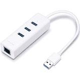 TP-Link Adaptador USB 3.0 a Ethernet 10/100/1000 3 HUBs USB 3.0 UE330