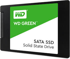 WESTERN DIGITAL SSD 120GB a 1TB SATA III 2.5 7MM WD GREEN