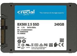 CRUCIAL 240GB SSD BX500 3D SATA 2.5