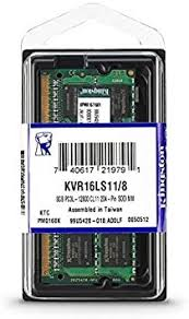 KINGSTON® MEMORIA DDR3L 8GB 1600MHz Value RAM